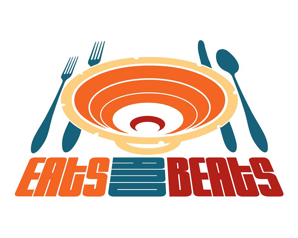 Eats and Beats logo design